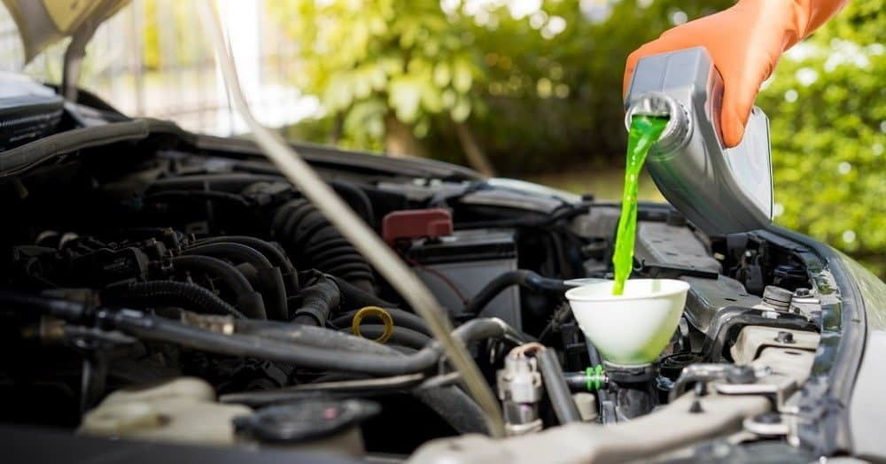 The Difference Between the Green Coolant & Orange Coolant