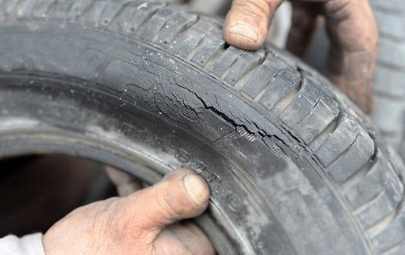 How to Fix Cracked Tires
